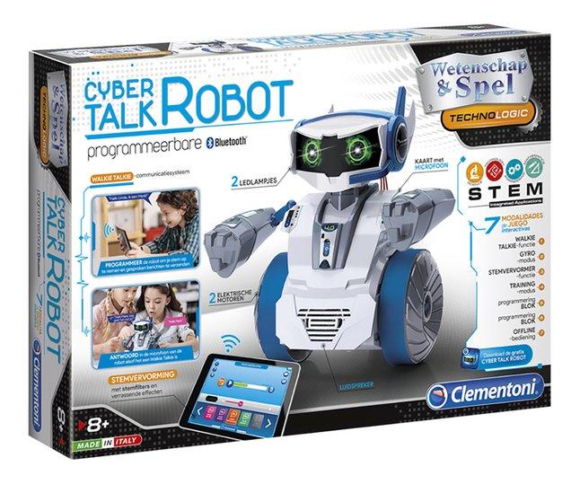 Clementoni Wetenschap & Spel Cyber Talk Robot
