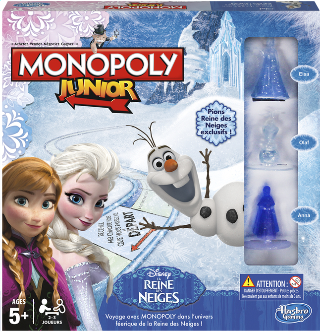 Afbeelding van Monopoly Junior Disney La Reine des Neiges FR from DreamLand