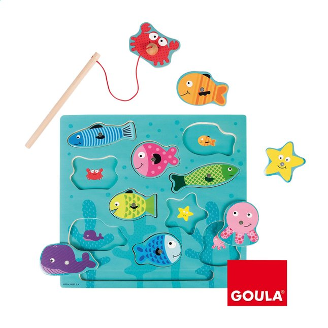 Goula puzzle magnétique Pêche