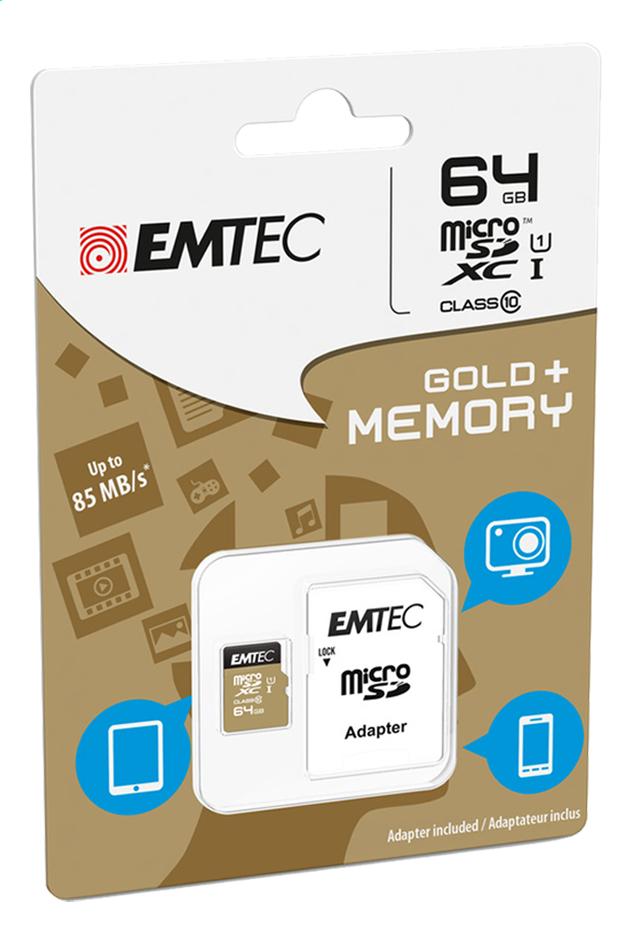 Afbeelding van Emtec geheugenkaart microSDXC Class 10 64 GB from DreamLand