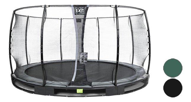 Afbeelding van EXIT inbouwtrampoline met veiligheidsnet Elegant Ground Economy Ø 4,27 m from DreamLand