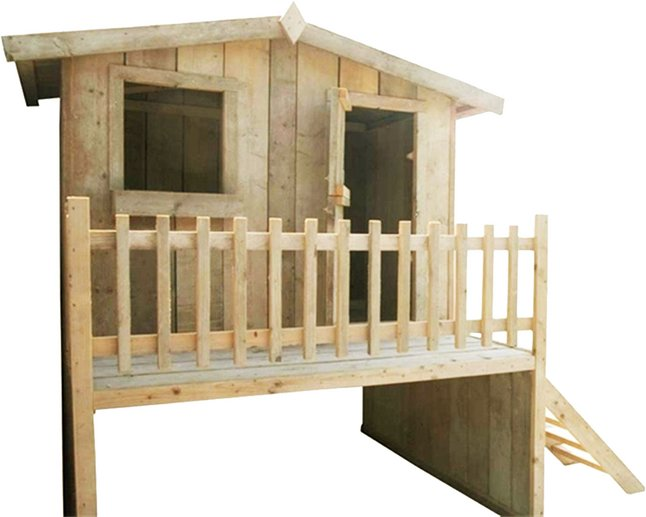 Dutchwood houten speelhuisje