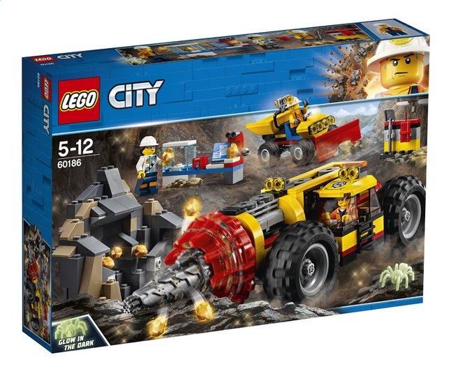 Afbeelding van LEGO City 60186 Zware mijnbouwboor from DreamLand