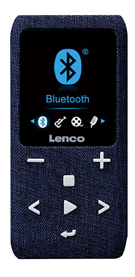 Lenco lecteur MP4 Xemio-861 BT 8 Go bleu