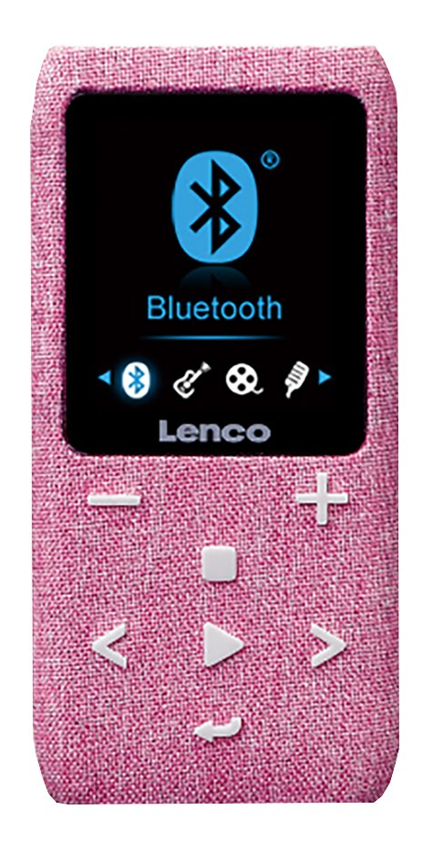 Lenco mp4-speler Xemio-861 BT 8 GB roze