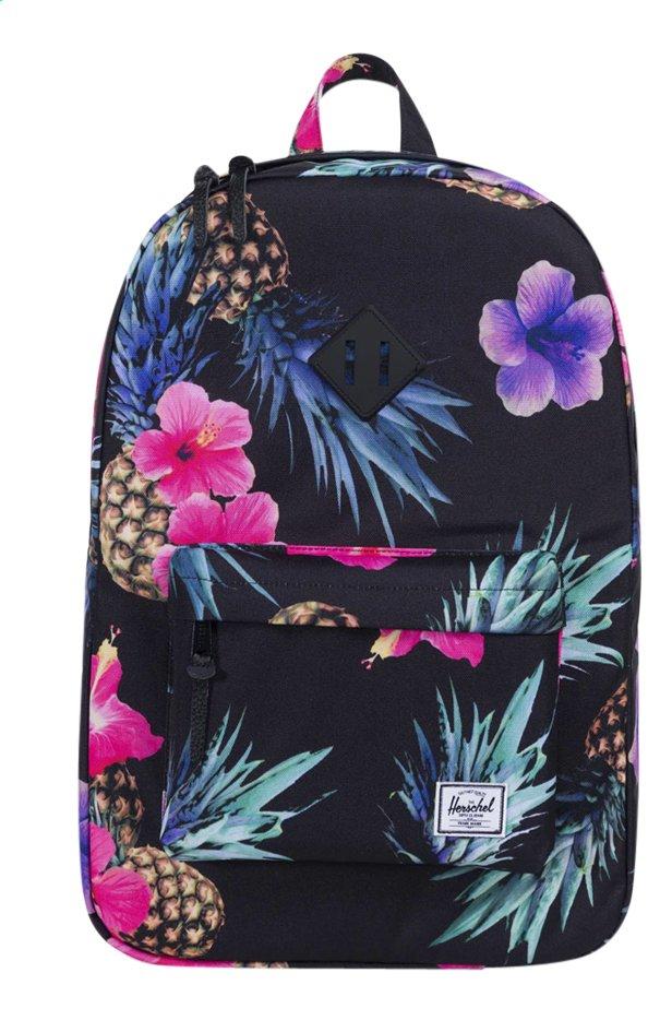 5556395037f Afbeelding van Herschel rugzak Heritage Black Pineapple from DreamLand
