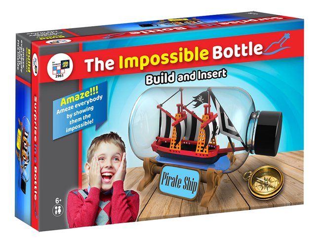 The Impossible Bottle - Piratenboot