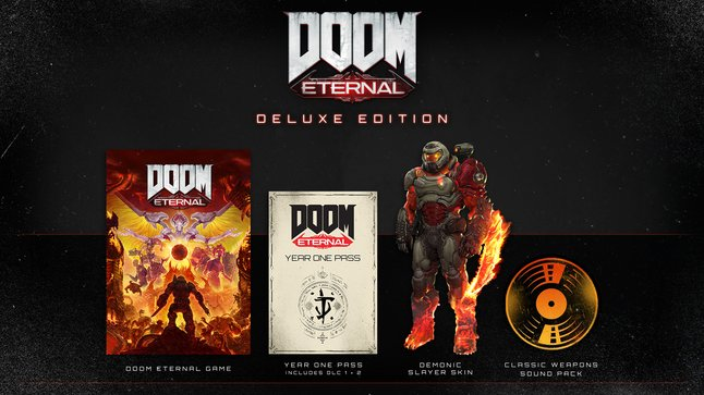 Xbox One Doom Eternal Deluxe Edition FR/ANG