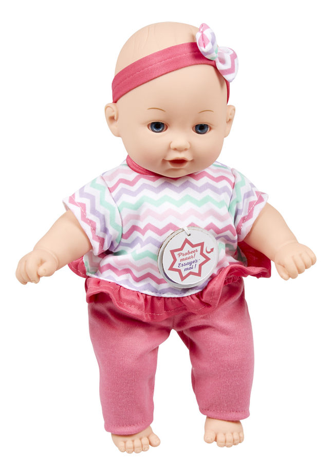 DreamLand zachte pop Knuffelpop Ella roze