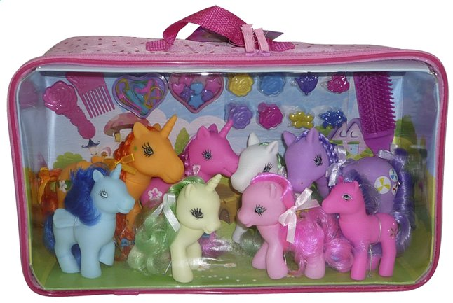 Afbeelding van Speelset paardenfamilie from DreamLand