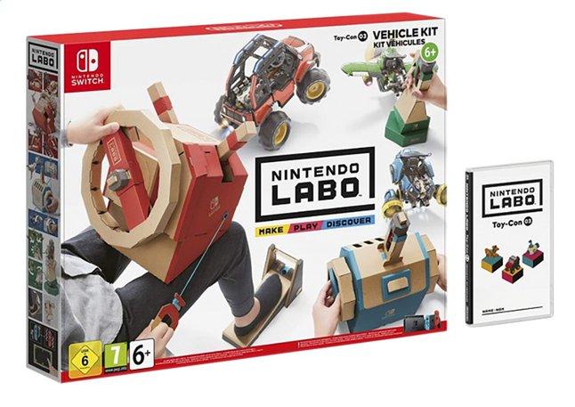 Switch Nintendo Labo voertuigenpakket ENG/FR
