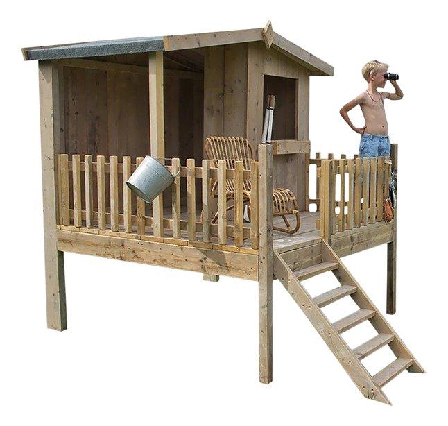 Afbeelding van Dutchwood houten speelhuisje Checkpoint from DreamLand