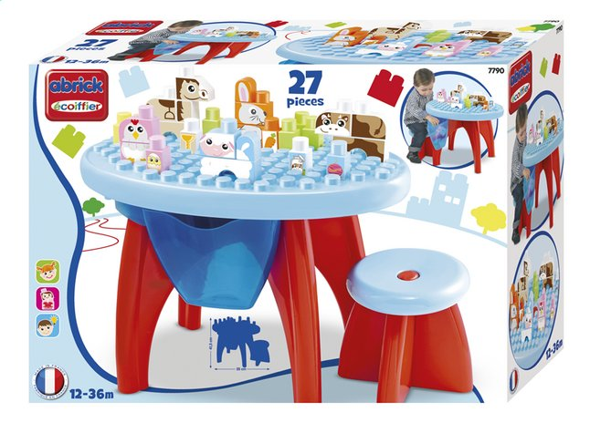 Image pour Abrick Table Animaux à partir de DreamLand