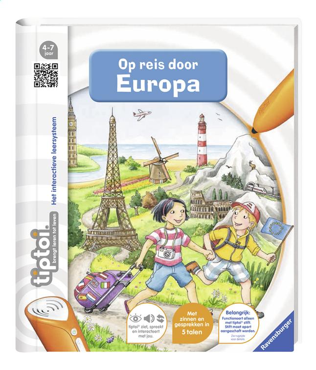 Afbeelding van Ravensburger Tiptoi Op reis door Europa from DreamLand