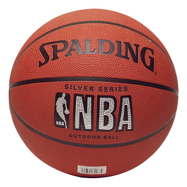 Afbeelding van Spalding NBA basketbal Silver Series maat 5 from DreamLand