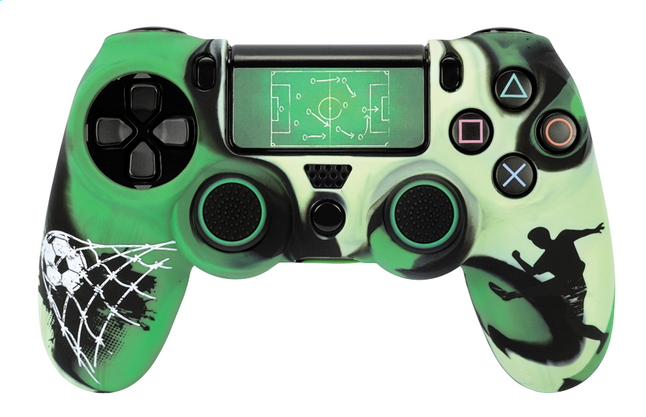 Image pour Hama set d'accessoires pour manette DualShock 4 de PS4 Football vert à partir de DreamLand