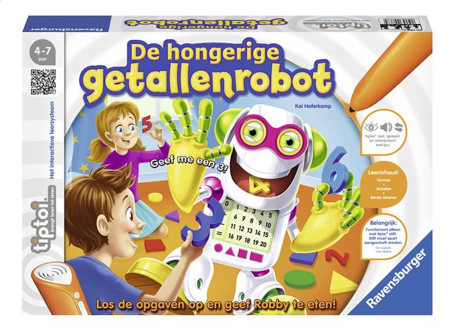 Afbeelding van Ravensburger Tiptoi De hongerige getallenrobot from DreamLand