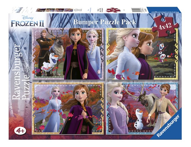 Ravensburger puzzel 4-in-1 Disney Frozen II