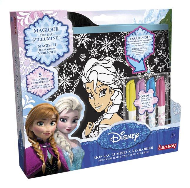 Afbeelding van Lansay Mijn verlichte tas om te kleuren Disney Frozen from DreamLand