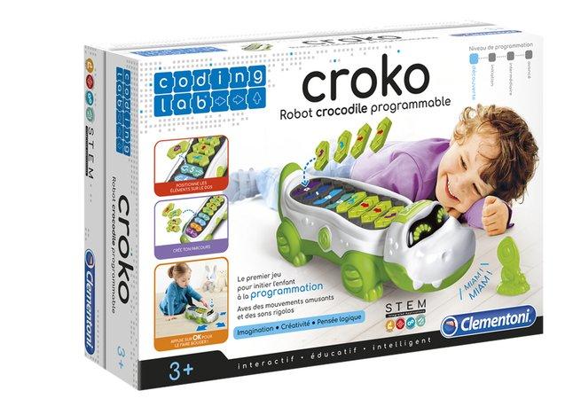 Clementoni Coding Lab Croko Robot Crocodile programmable