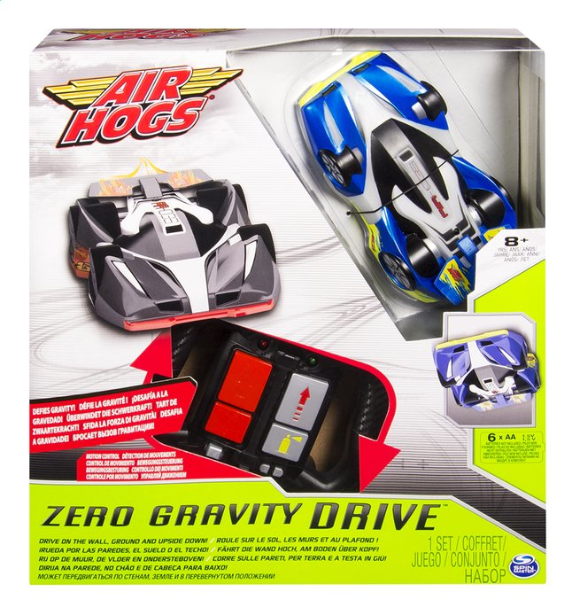 Afbeelding van Air Hogs auto RC Zero Gravity Tilt blauw from DreamLand