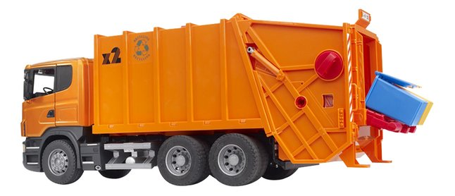 Afbeelding van Bruder vuilniswagen Scania Serie R from DreamLand