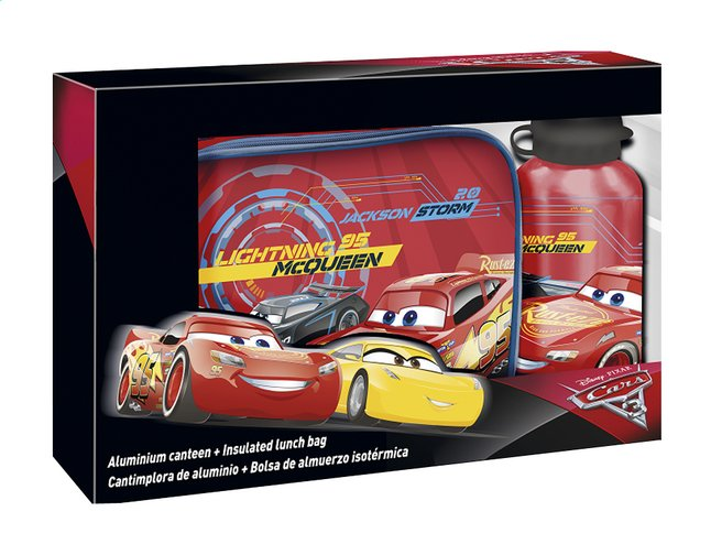 Afbeelding van Lunchtas Disney Cars 3 + drinkfles from DreamLand