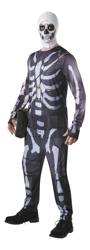 Afbeelding van Verkleedpak Fortnite Skull Trooper S from DreamLand