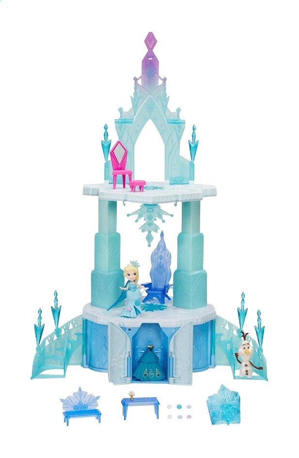 Maison de poup es disney la reine des neiges ch teau for Chateau la reine des neiges
