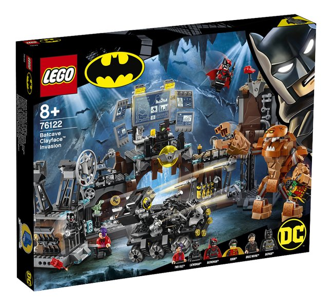 Afbeelding van LEGO Super Heroes 76122 Batcave invasie Clayface from DreamLand
