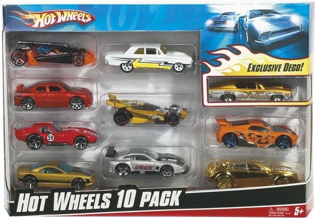 image pour hot wheels 10 voitures partir de dreamland - Voitures Hot Wheels