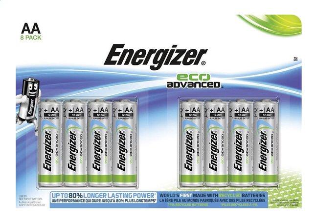 Afbeelding van Energizer 8 AA-batterijen Eco Advanced from DreamLand