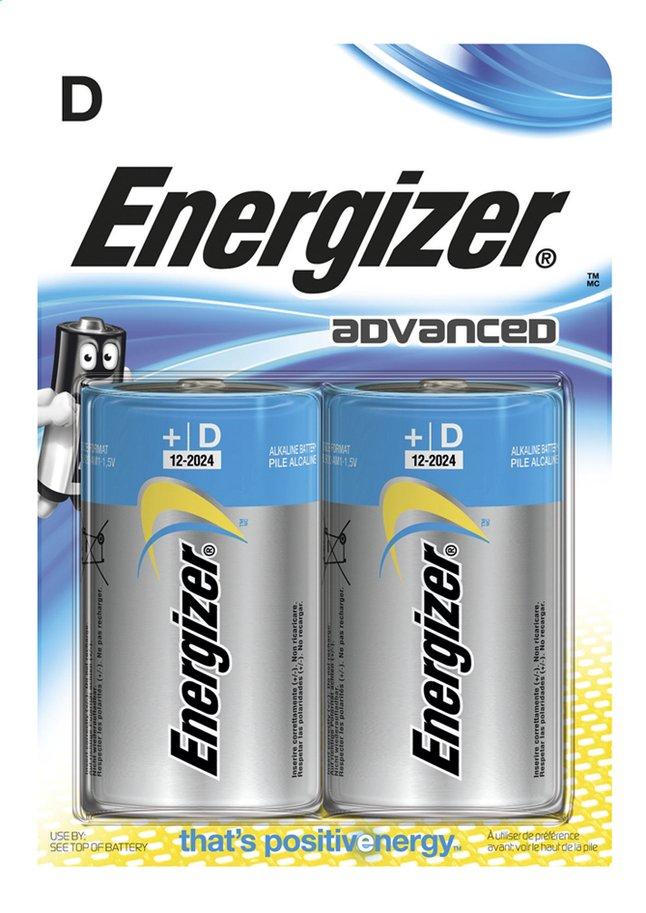 Afbeelding van Energizer D-batterij Advanced - 2 stuks from DreamLand