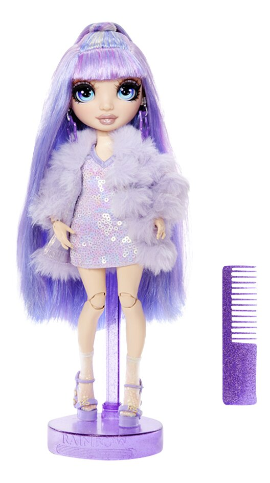Rainbow High poupée Rainbow Surprise Fashion - Violet Willows