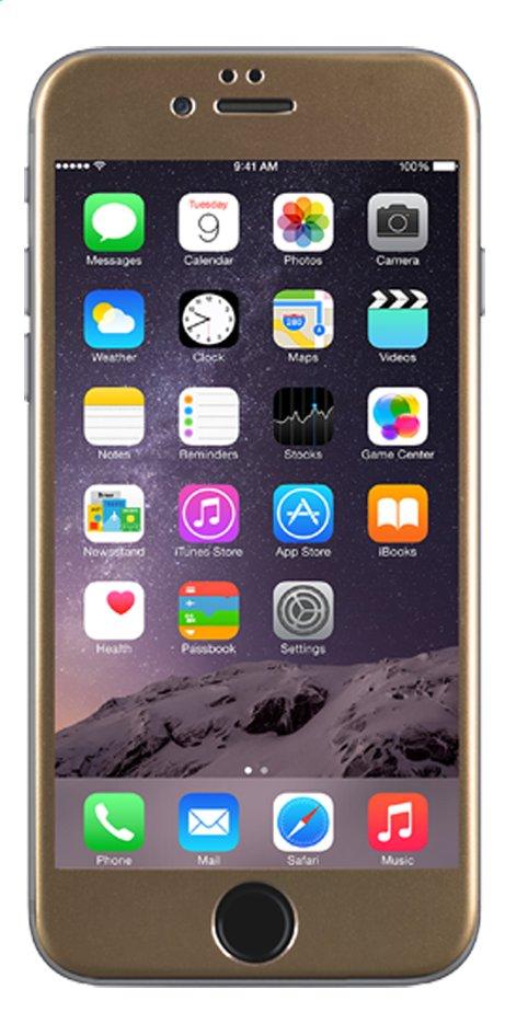 Afbeelding van bigben screen protector tempered glass voor iPhone 6 goud from DreamLand
