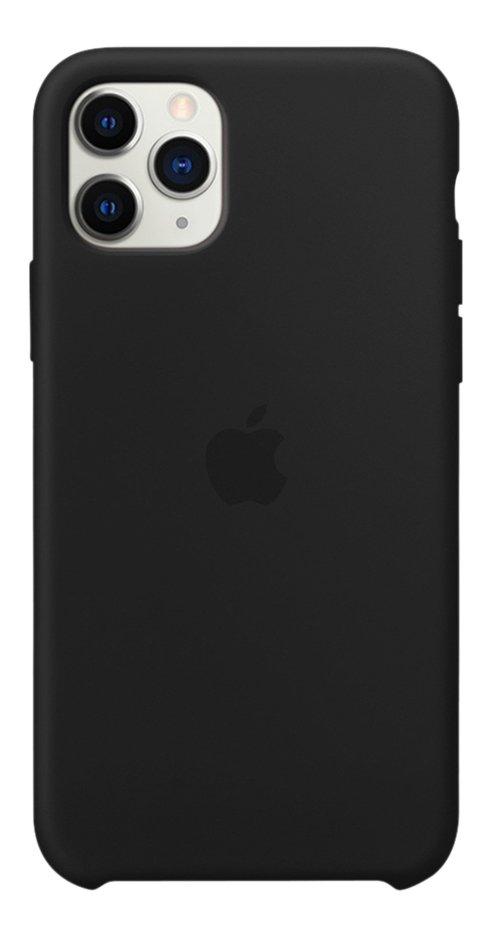 Apple coque en silicone pour iPhone 11 Pro Max noir