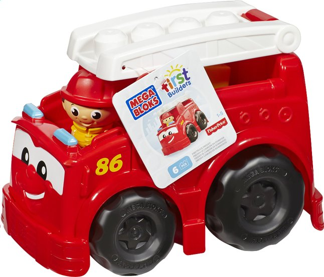 Afbeelding van Mega Bloks First Builders Firetruck Freddy from DreamLand