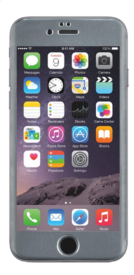 Afbeelding van bigben screen protector tempered glass voor iPhone 6 zilver from DreamLand
