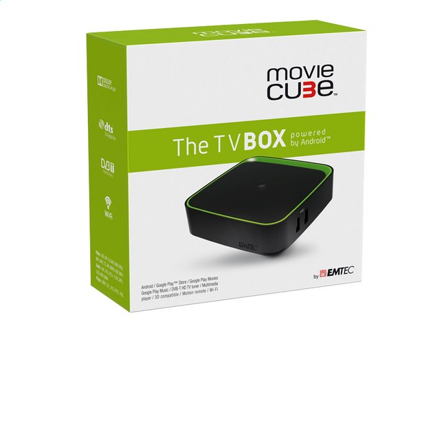 Afbeelding van Emtec The TV Box Movie Cube from DreamLand