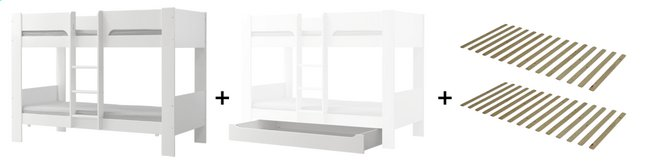Image pour Flexa Lits superposés avec tiroir de rangement à partir de DreamLand