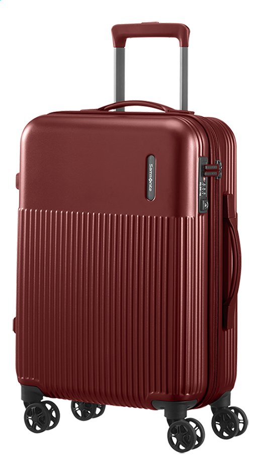 Afbeelding van Samsonite harde reistrolley Rectrix Spinner Matte Red 55 cm from DreamLand
