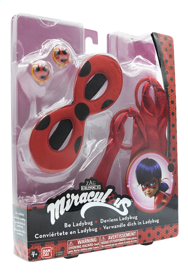 Afbeelding van Speelset Miraculous Be Ladybug from DreamLand