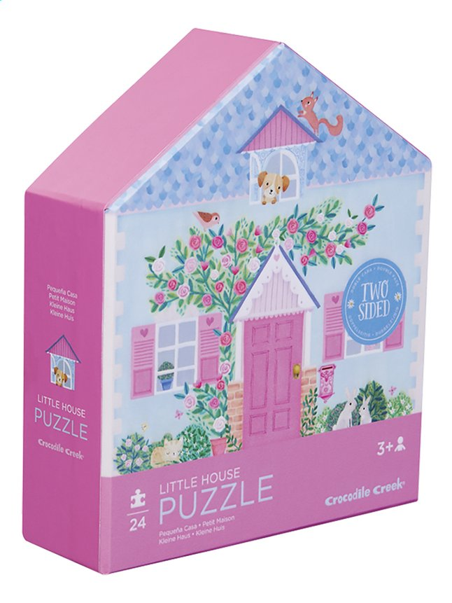 Afbeelding van Crocodile Creek puzzel Little House from DreamLand
