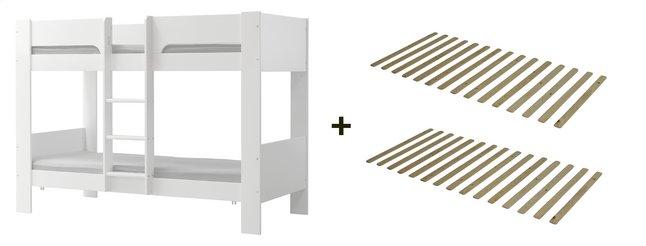 Image pour Flexa lits superposés avec sommiers à lattes à partir de DreamLand