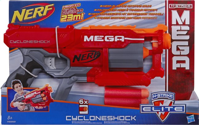 Afbeelding van Nerf Mega blaster Elite Cycloneshock from DreamLand