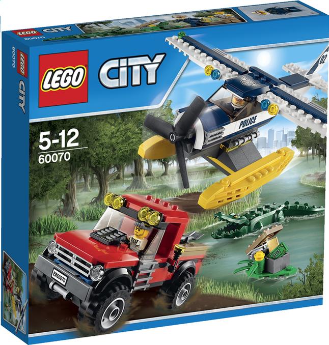 Afbeelding van LEGO City 60070 De achtervolging met het watervliegtuig from DreamLand