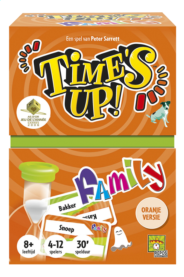 Afbeelding van Time's up! Family oranje from DreamLand
