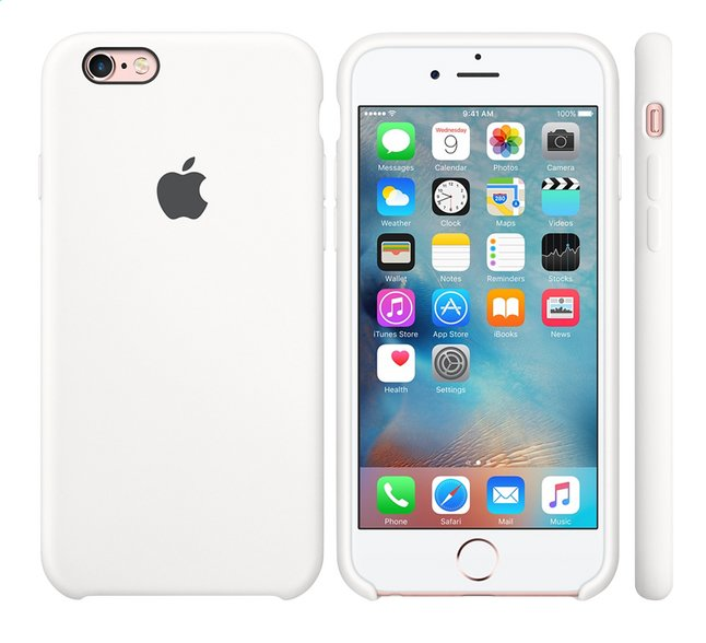 Afbeelding van Apple Cover voor iPhone 6s silicone wit from DreamLand