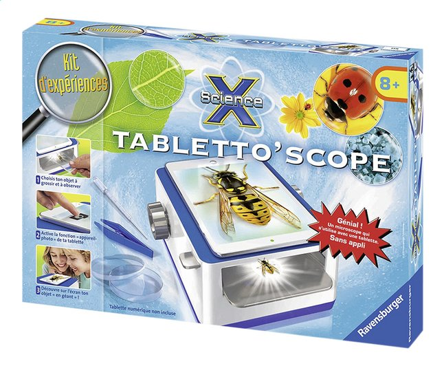 Image pour Ravensburger Kit d'expériences Science X : Tabletto'scope à partir de DreamLand