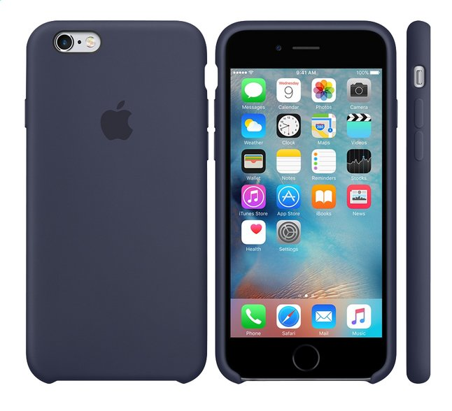 Afbeelding van Apple silicone cover voor iPhone 6s midnight blue from DreamLand